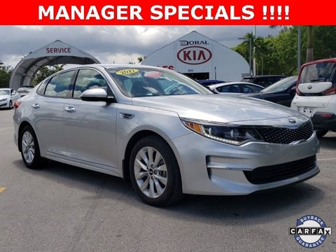 2017 Kia Optima Ex In Miami Fl D